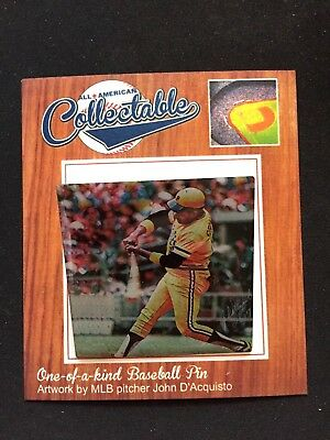 Baseball & Softball Sinnvoll Pittsburgh Pirates Willie Stargell Revers Pin-collectable Memories-classic Pops Sport