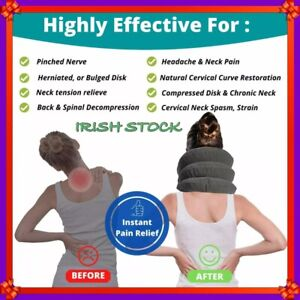 Neck Brace Support Cervical Air Inflatable Traction Therapy Massager Device