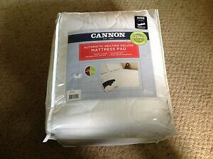 Cannon Deluxe Heated Mattress Pad W Dual Digital