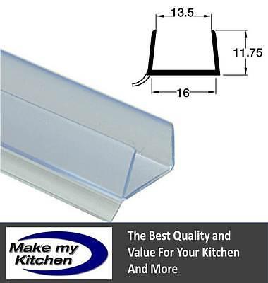3m Clear Plinth Seal Sealing Strip 15-16mm Board Quantity Discounts Next Day Del