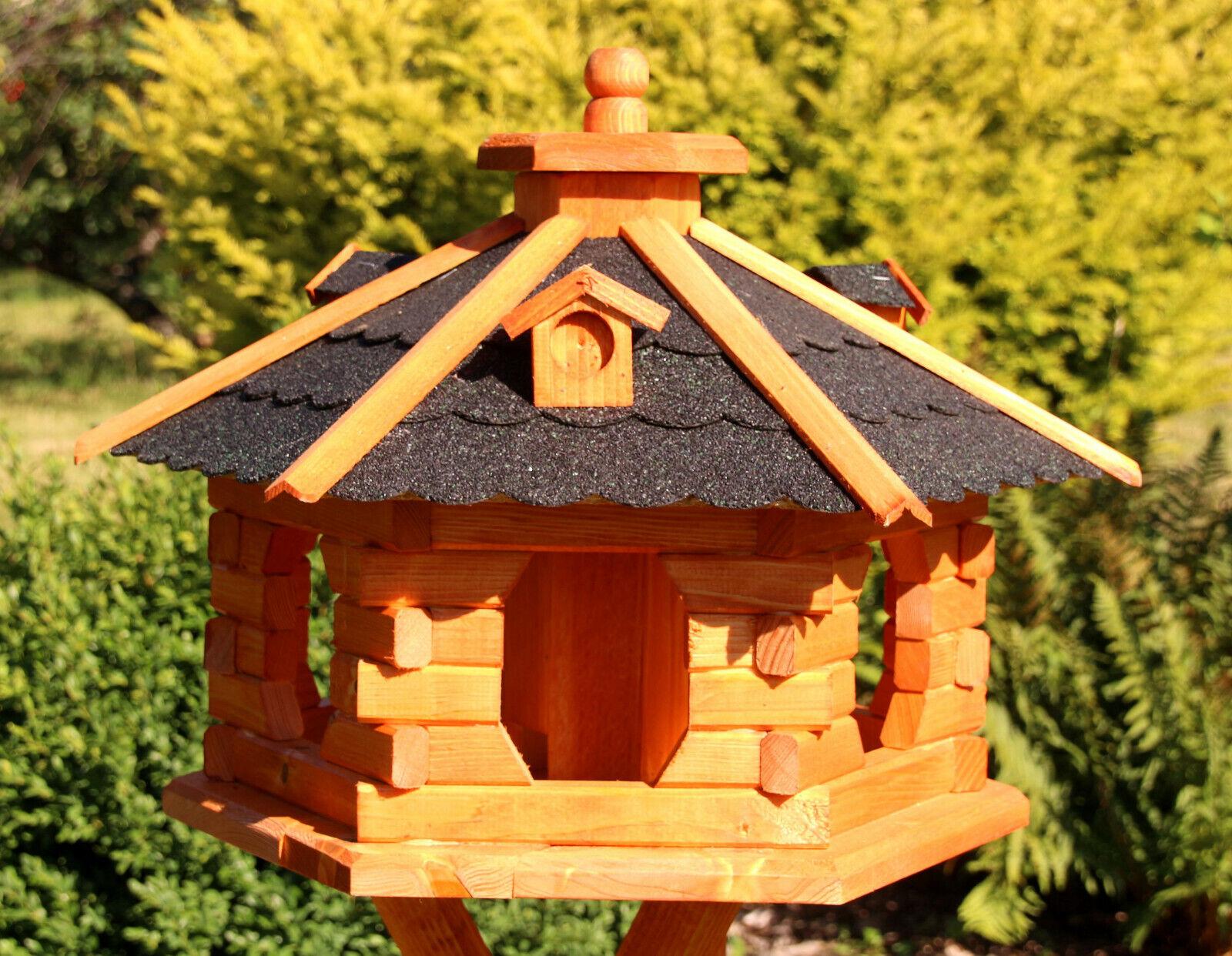 Bird House, casas del pájaro negro tratada tipo 4