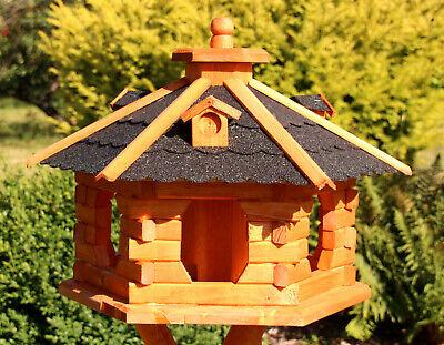 Vogelhäuser Vogelhaus mit Ständer behandelt Typ 4