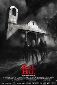 Details About Kill Bill Vol 2 By Karl Fitzgerald Movie Screen Print Poster Regular Commission