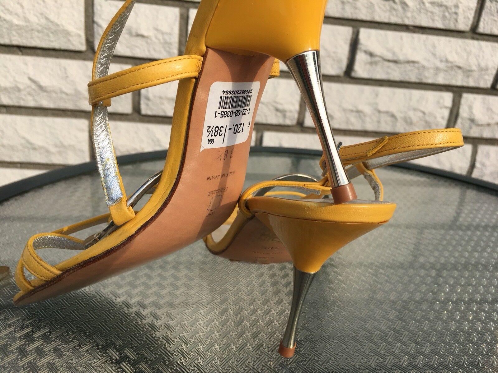 NEU High Heels, weiches Damenpumps  Leder, super weiches Heels, Leder Gr. 38,5  NEU f9678b