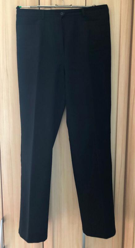 Leichte Damenhose, Schwarz L Größe 42 Zeitlos Elegant, Wie Neu
