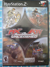 MX vs. ATV Unleashed (PlayStation 2 - PS2 - Includes Manual)
