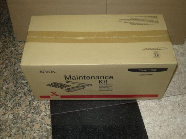 GENUINE XEROX 108R00600 PHASER 4500 108R600 PRINTER MAINTENANCE KIT 110V SEALED