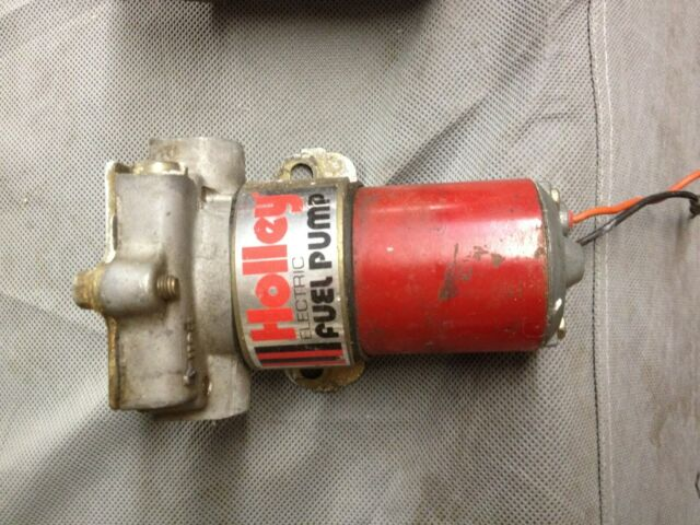 Holley Electric Fuel Pump Red L
