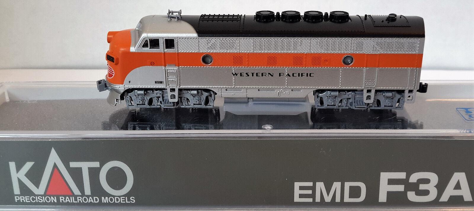 marchio in liquidazione N Scale KATO F3A F3A F3A 'Western Pacific' DCC Ready Item  176-1202  prendi l'ultimo