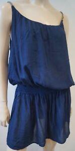 Heidi Klein de Mini bleue robe plage SaxwSZqrC