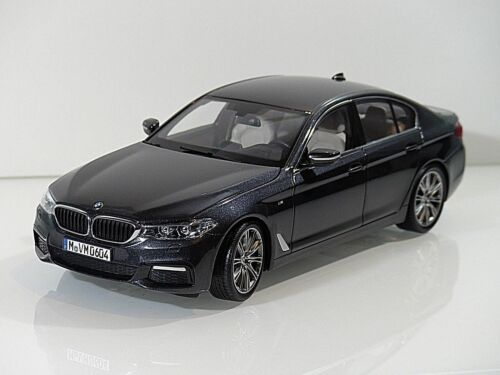 Original miniatura BMW 5 series G30 1:18 gris nuevo modelo coleccionista 80432413789 2413789