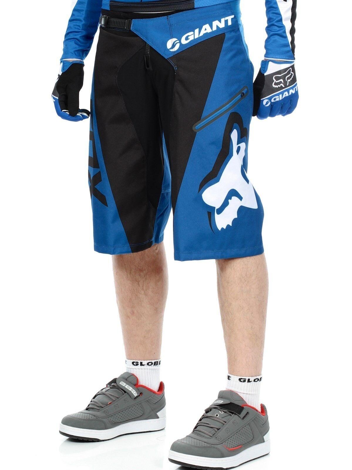 Fox Racing  Giant Demo cuesta abajo Corto Azul  tienda de venta