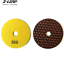 7Pcs Diamond Dry Polishing Pads 4 Inch Grit 50-3000 for Granite Marble Polisher