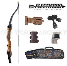 """Fleetwood Monarch Take Down Recurve Bow 15# 54"""" Starter Package Right Handed"""