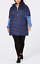 Columbia-Oyanta-Trail-Long-Hybrid-Coat-Nocturnal-Eve-size-Small thumbnail 1