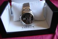 TISSOT Le Locle Chronograph Automatic watch 25 Jewel100% Swiss Made with 2 Boxes