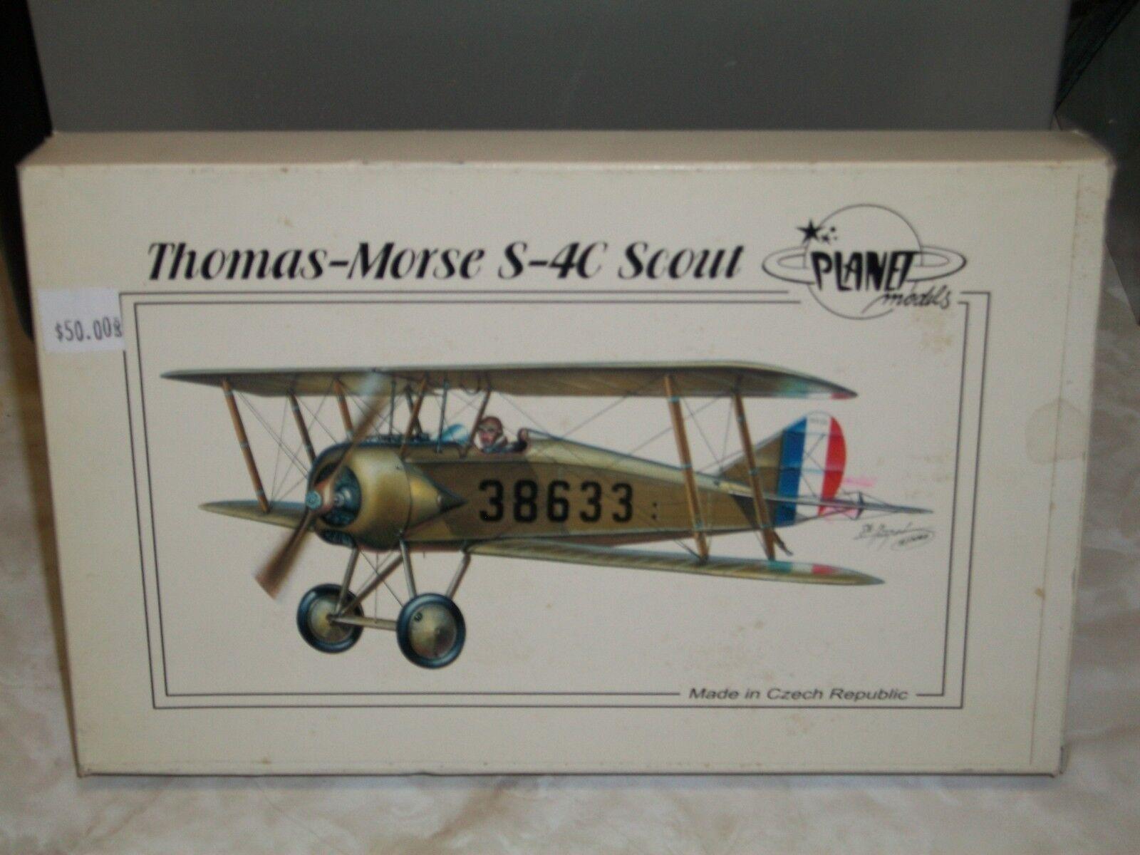 Planet 1 48 Scale Resin Thomas-Morse S-4C Scout