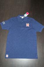Olympia London 2012 Herren Polo Shirt Olympic Games Größe S Blau Neu mit Etikett