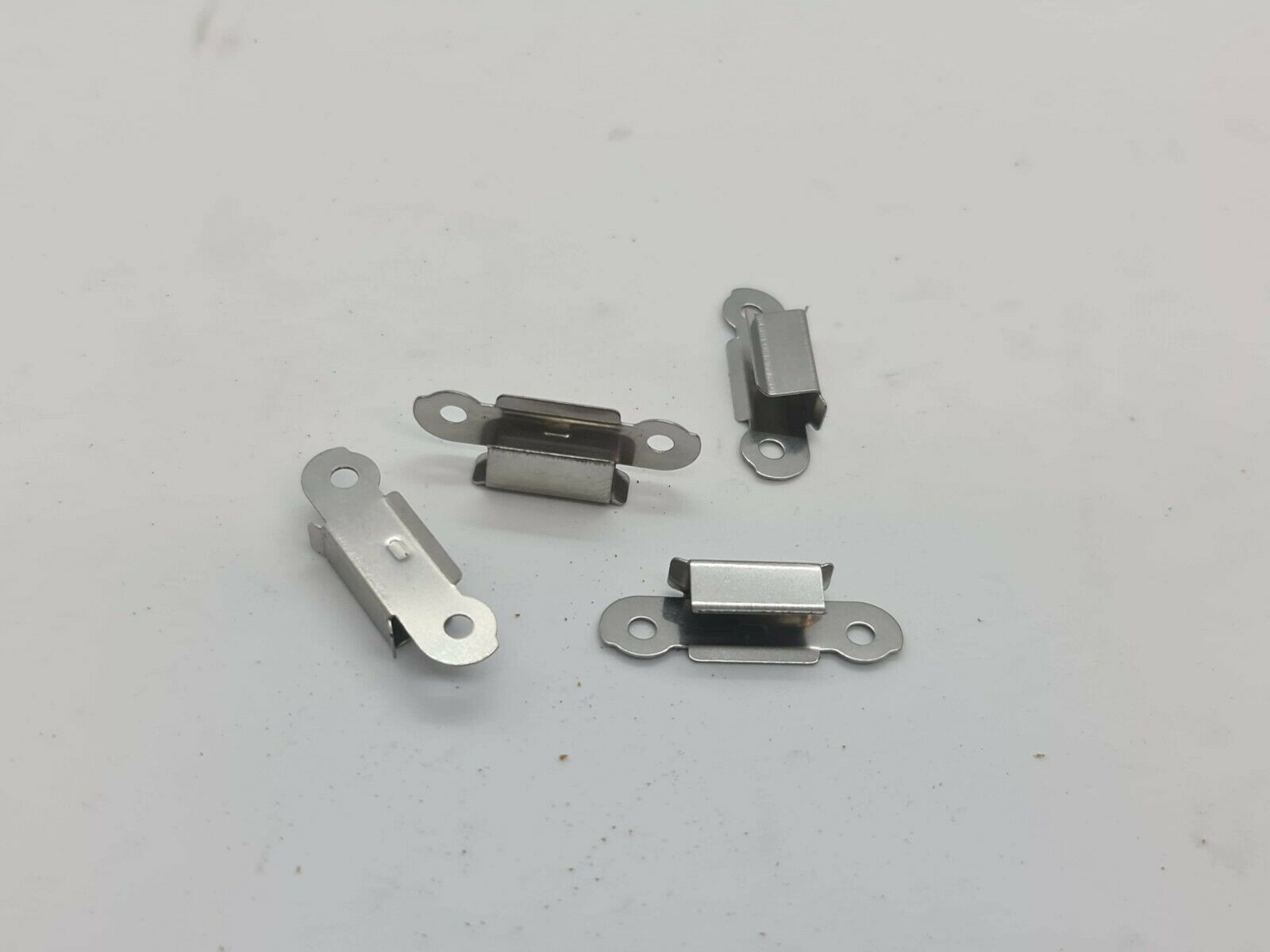 3D Printer Glass Bed Clips X4 Stainless Steel Build Platform Retainers