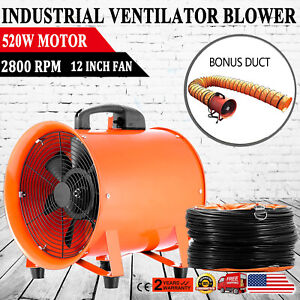 "12"" Industrial Utility Fan Blower Portable Fume Extractor ..."