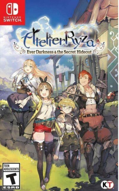 Atelier Ryza: Ever Darkness & The Secret Hideout  Nintendo Switch ⭐⭐⭐⭐⭐