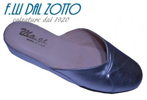 Argento Da Pantofola Ciabatta Ditta Camera Pelle – Ma gi Donna Colore 5wv6aqw