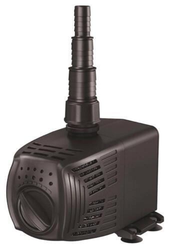 5 year warranty PondBuilder Magnetic Drive Pond Pump-800 gph-adjustable flow