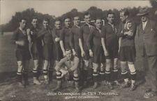 FOOTBALL JUEGOS OLIMPICOS 1924 EQUIPE DE HONGRIE 164  REAL PHOTO
