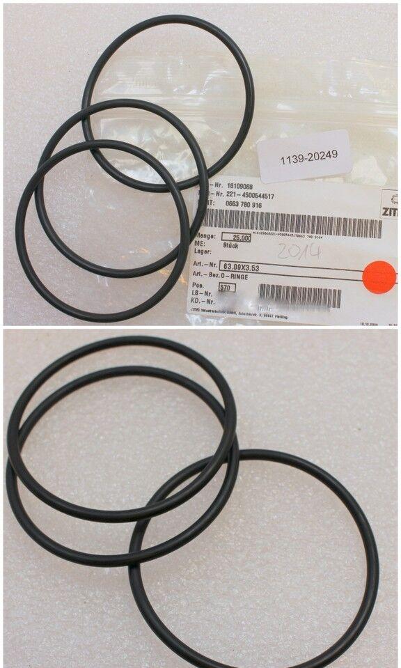Menge 10 Stück Dichtring O-Ring 21,82 x 3,53 mm NBR 90