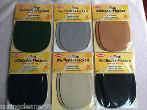 KLEIBER-SUEDE-ELBOW-PATCHES-SEW-ON-PATCHES-KNEE-ELBOW-NEW-amp-SEALED