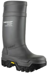 Dunlop Pull-On Self-Lined Mens Boots - Green - Size 49 qlr6lPbVPL