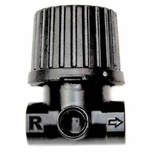 "1/4"" Mini Metal IN-Line Regulator Inlet 150 PSI - Outlet 125 PSI - Boxed WR112RL"