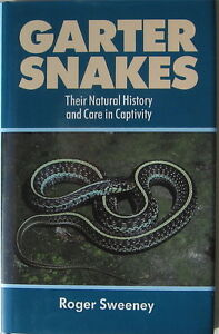 SNAKE BOOK GARTER SNAKES THEIR NATURAL HISTORY AND CARE IN CAPTIVITY