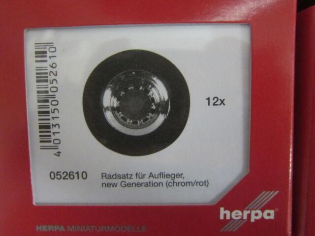 Herpa 052610 Radsatz Auflieger new generation 1:87 H0 NEU in OVP