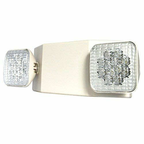 LED Emergency Exit Light Standard Square Head Lamps Light Fixtures Wall Mounted