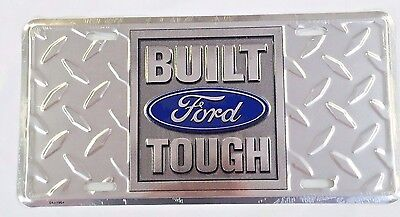 Cadillac Front or Rear Bumper License Plate Tag Sign Metal Embossed Tag