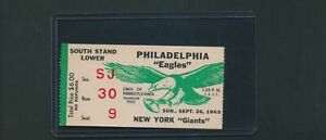 1965-Philadelphia-Eagles-vs-New-York-Giants-Football-Ticket-Stub-1936