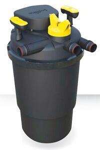 Askoll laguna pressure flo uvc 10000 filtro per laghetto for Filtro x laghetto