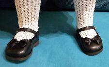 Schildkröt Puppenschuhe, Ballerinas für 65 - 70 cm Puppen, mit ca. 10 cm Füßchen