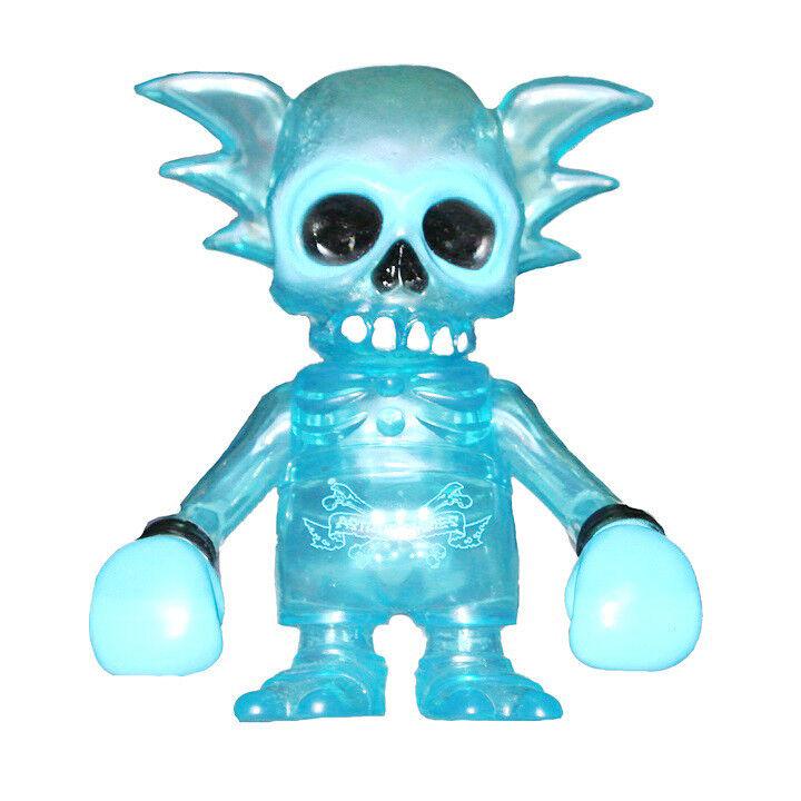 Secret Base x Pushead x Astro Zombies Clear bluee Rainy Day Skullwing