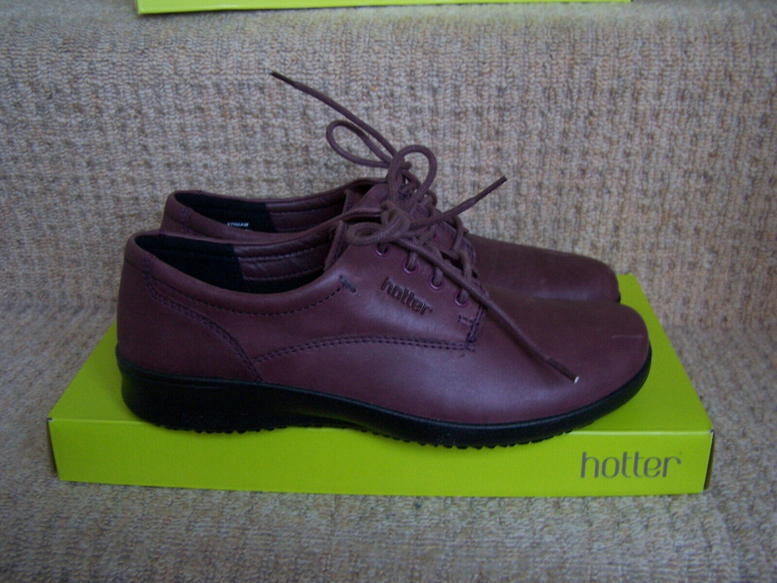 Brand new lace up shoes ' Stream' by Hotter, Hotter size 4 1 2 UK