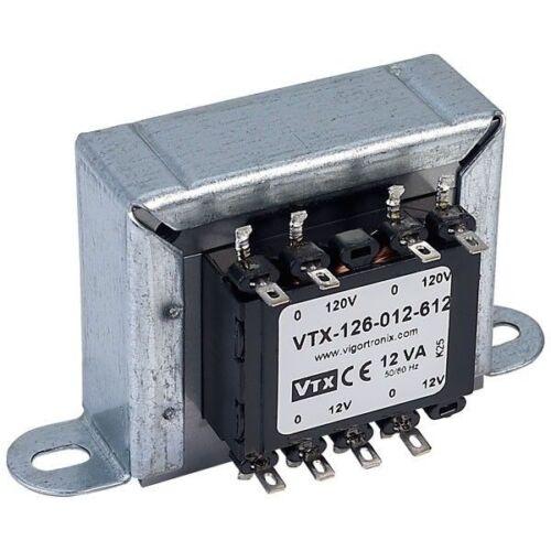 Vigortronix VTX-126-012-612 TELAIO RETE Transformer 12VA 0-12V