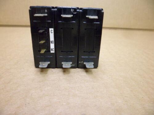 FUJI ELECTRIC CP33E//5W CIRCUIT PROTECTOR  250 VAC 5AMP 3 POLE NOS
