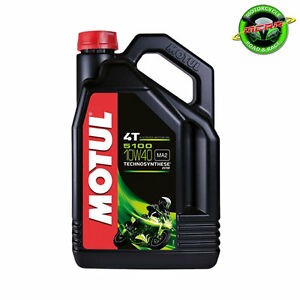 Motul 5100 10w40 Ester Semi Synthetic 5 Litres Motorcycle Engine Oil