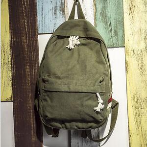 Retro-Vintage-Canvas-Camping-Hiking-Travel-Backpack-Rucksack-Satchel-School-Bag