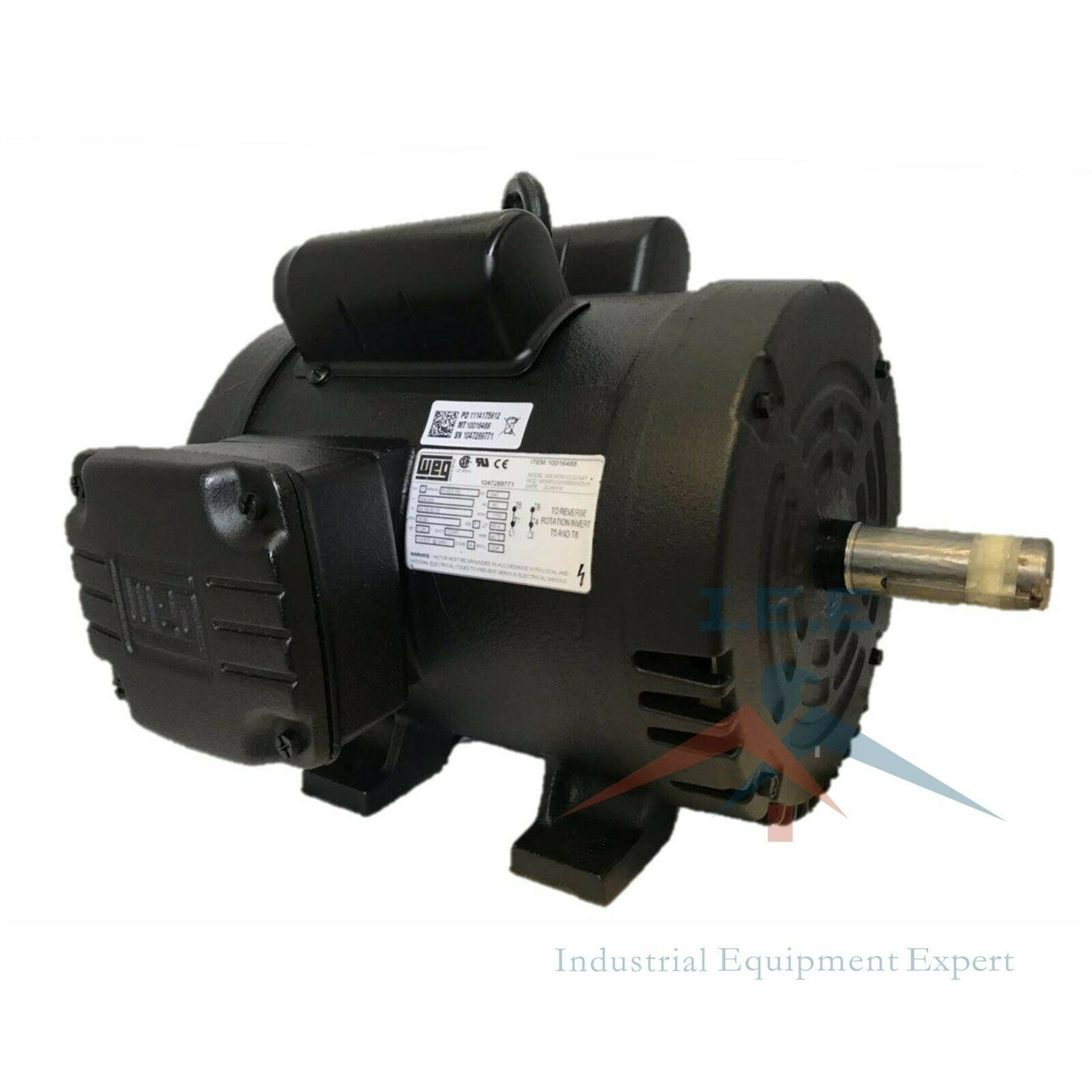 5 HP Air Compressor Duty Electric Motor 184t Frame 1750 RPM Single B Century Ac Motor Wiring Diagram on