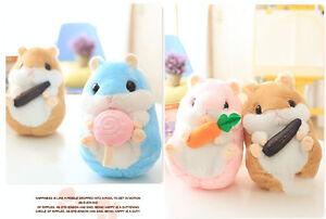 US-Hamster-Soft-Plush-Toys-Stuffed-Animals-Doll-Pillow-Girls-Kids-Birthday-Gift