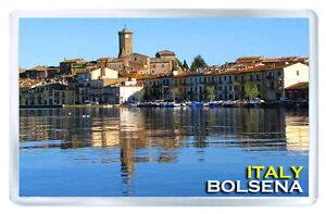 BOLSENA ITALY MOD2 FRIDGE MAGNET SOUVENIR IMAN NEVERA