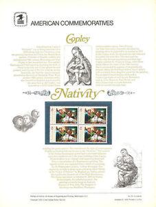 72-13c-Christmas-Nativity-1976-1701-USPS-Commemorative-Stamp-Panel