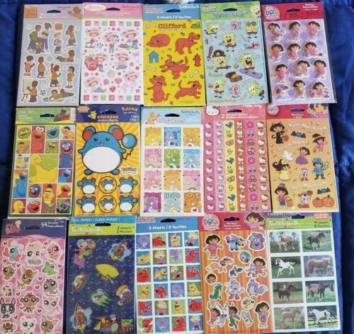 1 VTG hallmark 2 Sticker Sheets American Greetings Unopened*choose one*
